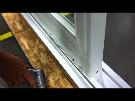 How To Remove Stationary Sliding Glass Door Paradigm Windows Removing Stationary Panel On Patio Door