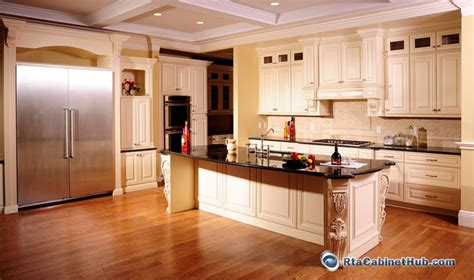cream kitchen cabinets with glaze cream maple glaze french vanilla rta kitchen cabinets