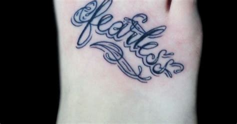 tattoo inspiration script fearless script love the way is written tattoo