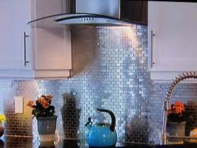 Faux Tin Kitchen Backsplash Tin Backsplash On Property Brothers Decorative Ceiling