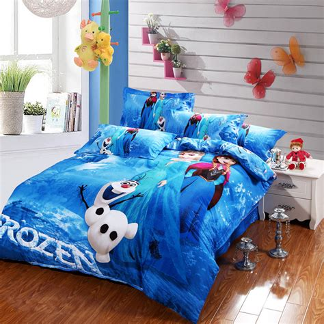 Disney Frozen Bedding Set 100 Cotton Buy Disney Frozen Bed Comforters Set