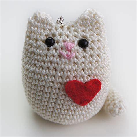 amigurumi llavero llavero gato amigurumi missdiy