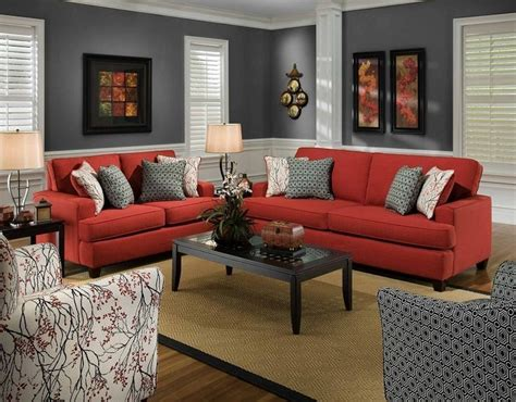 home decor red sofa living room ideas com couch 100 9 fotos de decoraci 243 n de salas en rojo