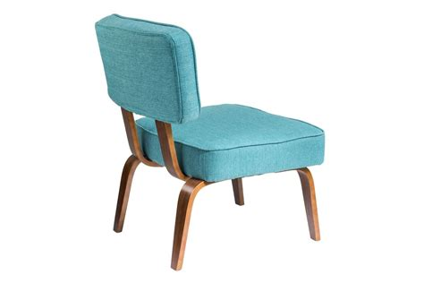 Mid Century Modern Accent Chair by Nunzio Mid Century Modern Accent Chair In Teal By Lumisource