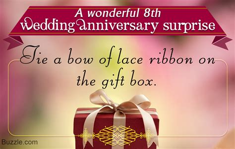 Wedding Anniversary Gift Ideas For by 8th Wedding Anniversary Gift Ideas For Gift Ftempo