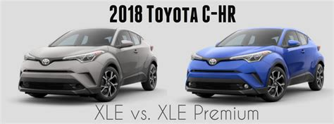Toyota Model Comparison Differences Between The 2018 Toyota C Hr Models