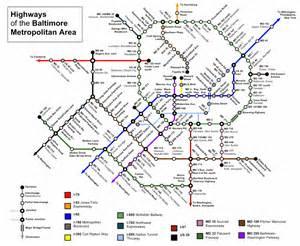 Light Rail Md Baltimore Subway Map Travel Map Vacations