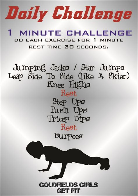 daily fitness challenge best photos of daily workout challenge 3 month workout
