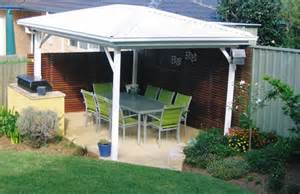 Solid Roof Pergola by Free Standing Solid Roof Pergola Pergola Front N Back