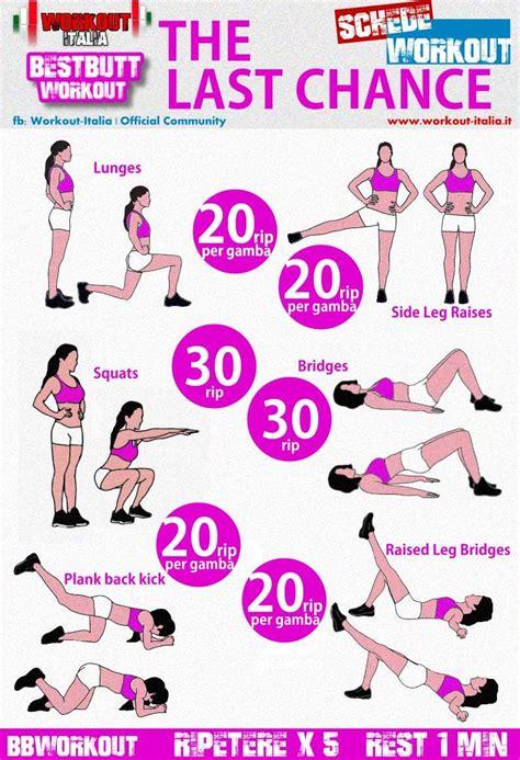 scheda workout glutei esercizi glutei exerc 237 cios de