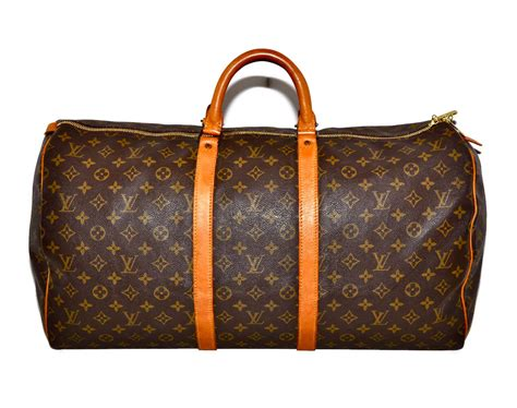 louis vuitton keepall 55 duffel bag large size lv by louise49