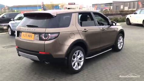 land rover brown land rover discovery sport sd4 hse brown 2015