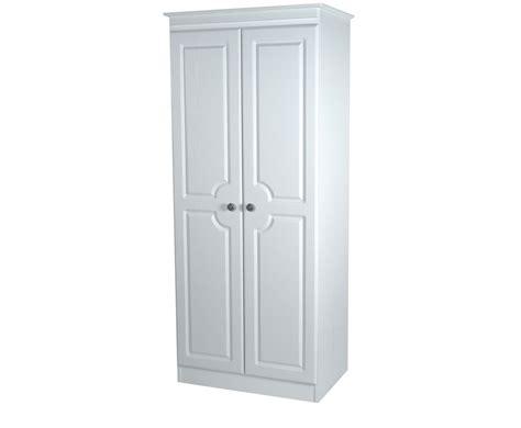 Narrow White Wardrobe Snowdon 2 Door Narrow Wardrobe In A Variety Of Finishes