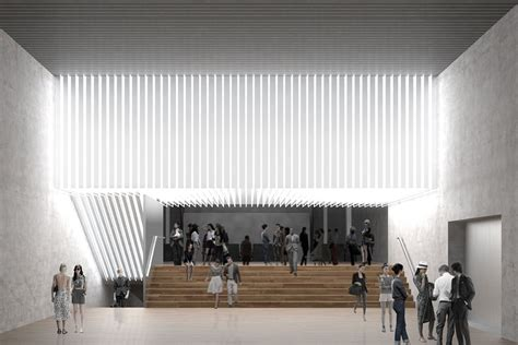 Oma Interiors by More In Milan Rem Koolhaas Arts Complex For Prada Brings