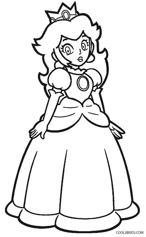 coloring pages princess peach crown coloring pages