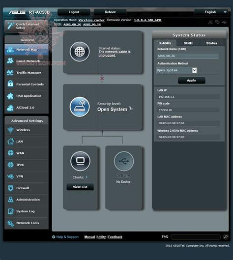 Asus Rt Ac58u Ac1300 Dual Band Wi Fi Router หน าท 4 asus rt ac58u ac1300 dual band gigabit wi fi router review vmodtech review