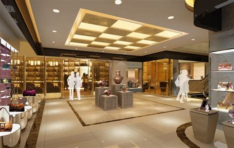 interior design shopping mall interior design for package and jewelry