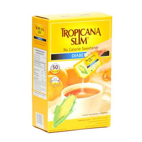 Tropicana Slim Clasic 50 Sachet tropicana slim sweetener diabetics 50 pcs