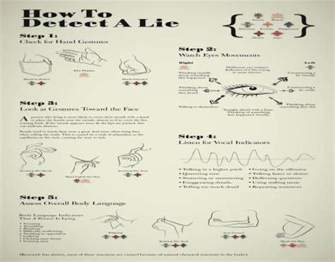 how to a detection how to detect a lie