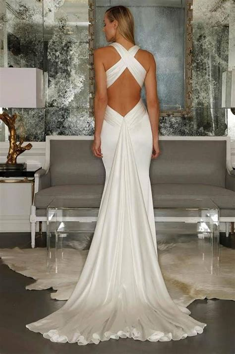 8 Beautiful Wedding Dresses For The Summer by 25 Best Ideas About Backless Wedding Dresses On