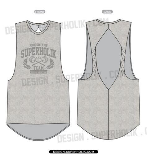 vest top template best photos of tank top template tank top template