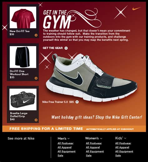 best direct marketing nike direct mail thewkyd