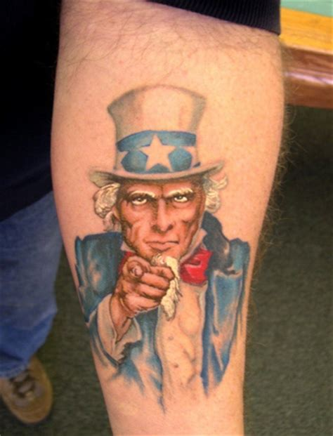 uncle sam tattoo vinnie myers sam