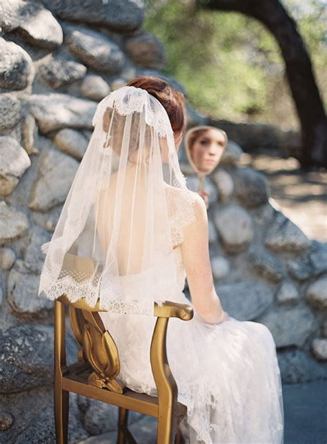 Vintage Bridal Hairstyles With Veil by Wedding Veil Lace Netting Tulle Ivory Style 216