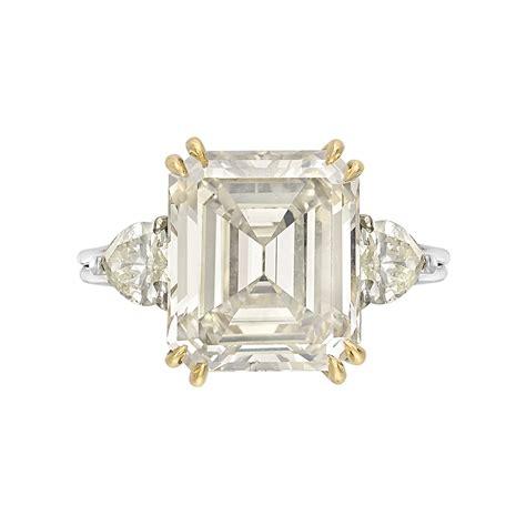 estate betteridge collection 6 55 carat emerald cut