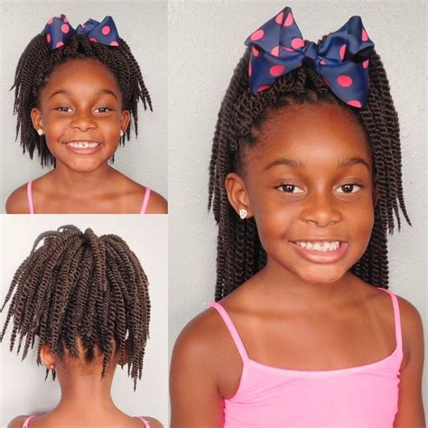 kids crochet hair styles 60 best images about natural hairstyles for kids on pinterest braid out protective styles