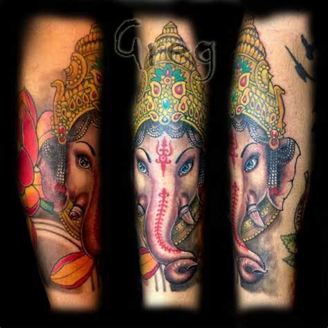 ganesh tattoo sleeve half sleeve tattoo archives page 2 of 3 balinese