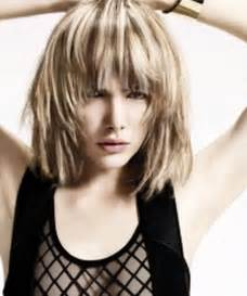 whats choppy hairstyles medium choppy hairstyles with bangs
