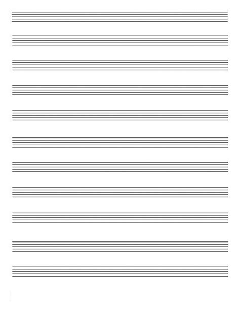 online printable staff paper blank music pages print new calendar template site