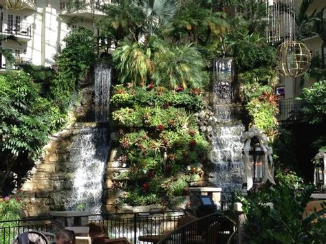 waterfall near lobby picture of opryland hotel gardens