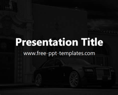 presentation templates for luxury luxury ppt template free powerpoint templates