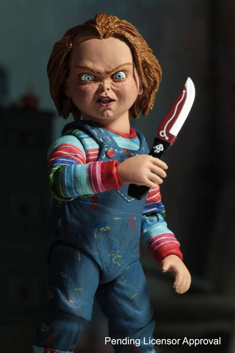 figure pictures sdcc 2017 neca ultimate chucky official images and info
