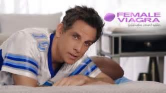 Ben stiller s fake female viagra commercial is brutally hilarious
