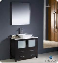 sink bathroom vanity home depot fresca torino 36 inch w vanity in espresso finish with
