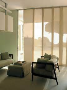 Modern Window Treatments by Vertical Motorized Shades Modern Window Treatments