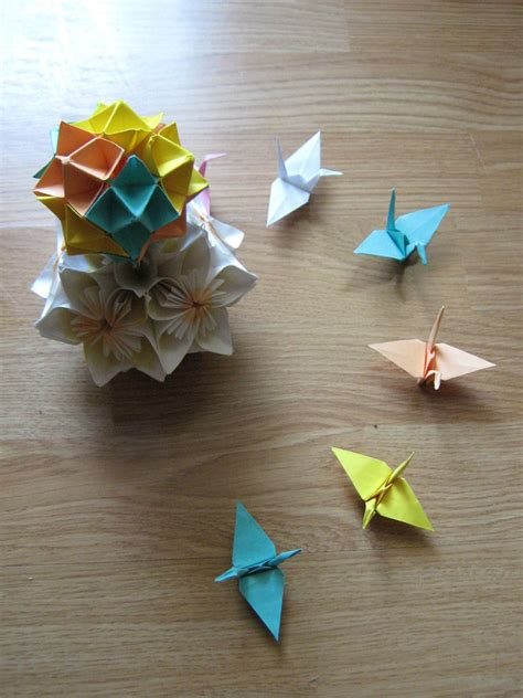 Origami Crane Base - the paper crane base by darkumah on deviantart
