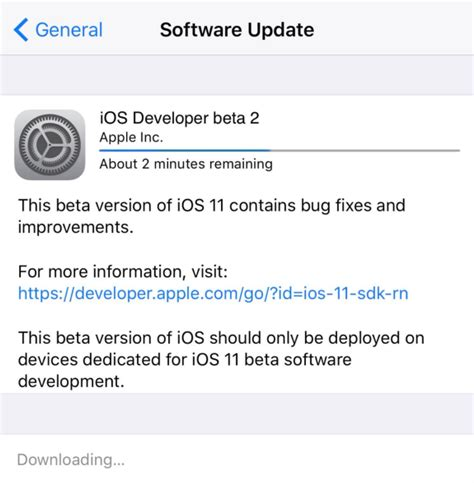 install ios 711 update on your iphone ipad or ipod touch how to download and install ios 11 beta 2 on iphone ipad