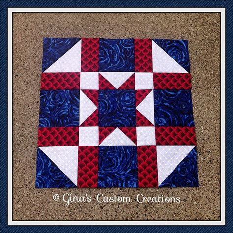 army quilt pattern army star quilt block gina s custom creations quilt