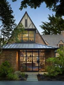 Modern Tudor Style Homes Tudor Home With A Modern Twist On Lake Washington