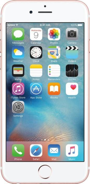 iphone 6s 64 gb buy apple iphone 6s gold 64 gb mobile phone at best price in