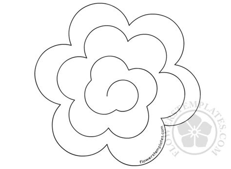 rolled paper roses template rolled paper roses template gallery template design ideas