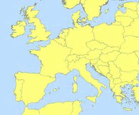 Western Europe Blank Map by File Central And Western Europe Blank Map Svg