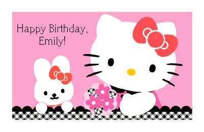 hello kitty printable greeting cards hello kitty birthday cards to print