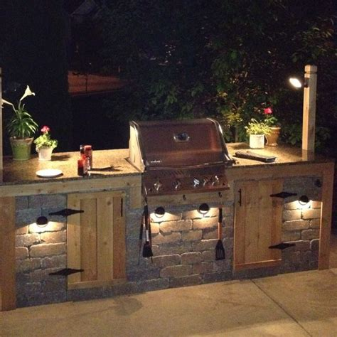 Outdoor Bbq Island Lighting 25 Best Ideas About Outdoor Grill Area On Backyard Kitchen Outdoor Bar And Grill
