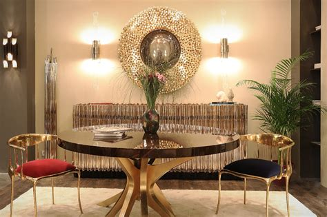 how to decorate a dining room how to decorate the dining room with luxury mirrors