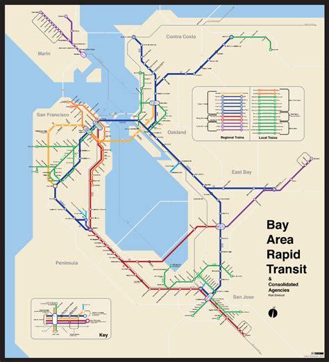 san jose msa map medium unified rapid transit map oakland metro area